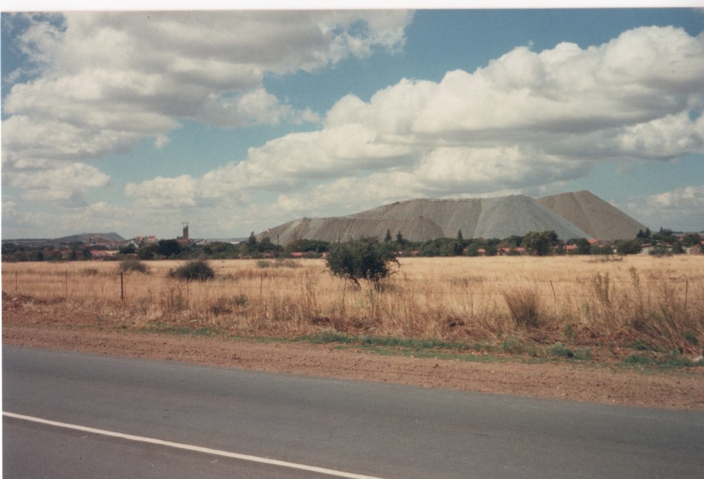 A view of Vaal Reefs No. 2 shaft taken by the author in the 1980s.